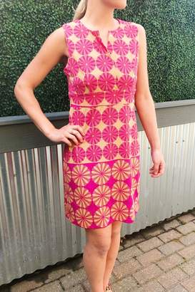 Aryeh Magenta Floral Dress