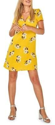 Dorothy Perkins Floral Seamed Fit-&-Flare Dress