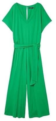 Violeta BY MANGO Long palazzo jumpsuit