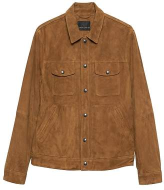 Banana Republic BR x Kevin Love | Suede Trucker Jacket