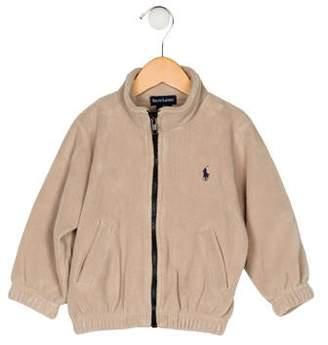 Ralph Lauren Boys' Fleece Zip-Up Jacket
