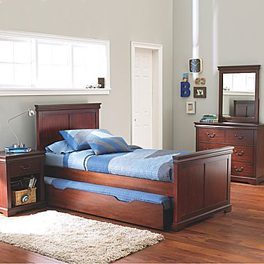 JCPenney Kids Bedroom, Darby Cherry Group