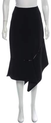 Prabal Gurung Asymmetrical Midi Skirt