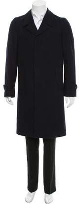 Dries Van Noten Wool Car Coat
