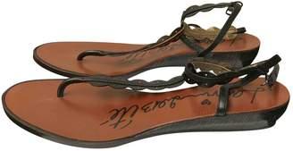 Lanvin Patent leather sandal