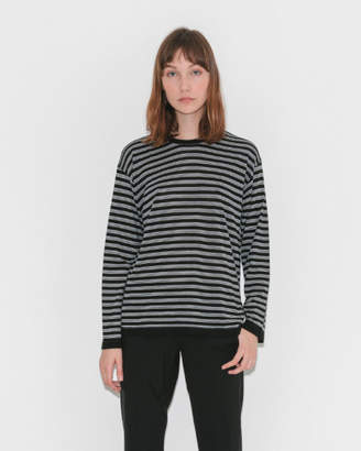 Alexander Wang Wash & Go Stripe Long Sleeve Tee
