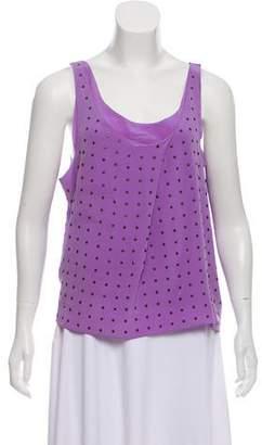 Rebecca Minkoff Embellished Sleeveless Top