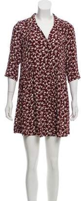 BA&SH Printed Mini Dress