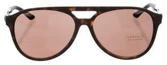 Versace Aviator Tinted Sunglasses w/ Tags