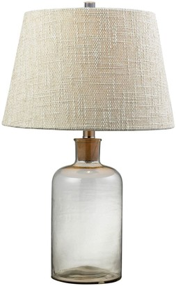 clear Dimond LED Glass Bottle Table Lamp