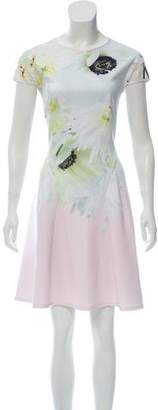 Ted Baker Floral Knee-Length Dress