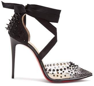 Christian Louboutin Mechante Reine 100 Stiletto Heels - Womens - Black