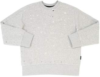 Diesel Destroyed Cotton Sweatshirt