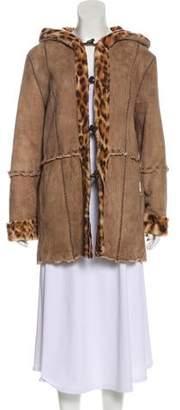 Giuliana Teso Reversible Suede Coat