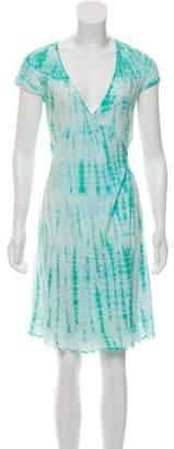 Calypso Tie-Dye Wrap Dress