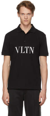 Valentino Black VLTN Polo