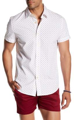 Parke & Ronen Print Shorts Sleeve Regular Fit Shirt