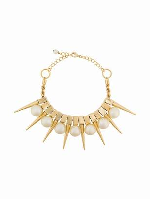 Balmain Danger pearl necklace