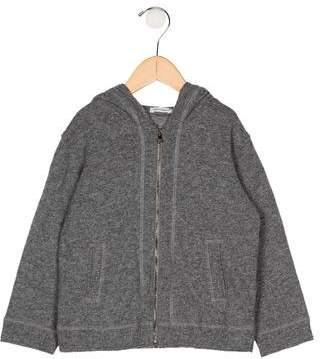 Dolce & Gabbana Boys' Hooded Zip-Up Sweater