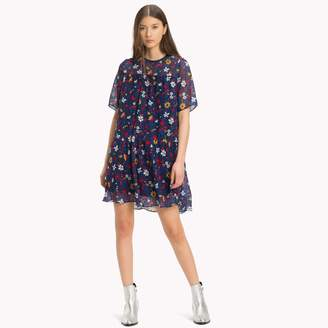 Tommy Hilfiger Floral Chiffon Dress