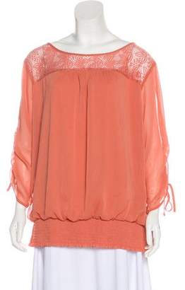 Alyx Ruched Long Sleeve Blouse