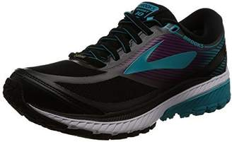 Brooks Women's Ghost 10 GTX Running Shoe (BRK-120245 1B 3887360 7.5 089 Black/Blue/Holly)