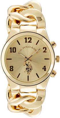 U.S. Polo Assn. 40069 Gold-Tone Watch