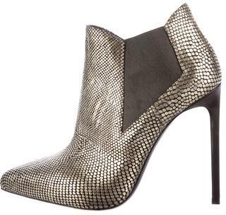 Saint LaurentSaint Laurent Classic Paris Metallic Boots
