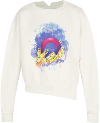 Off-White World Hand cotton sweatshirt