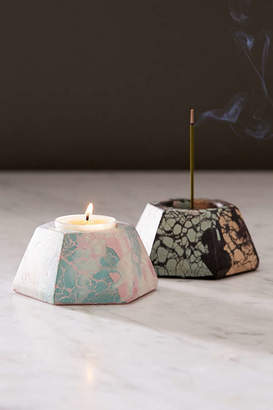 Urban Outfitters Concrete Cat X All-In-One Candle + Incense Holder