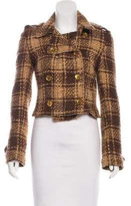 Dolce & Gabbana Wool Knit Jacket