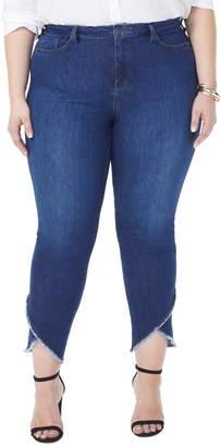 NYDJ Sheri Envelope Hem Stretch Slim Ankle Jeans