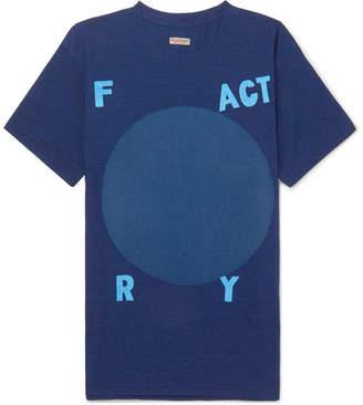 KAPITAL Printed Cotton-Jersey T-Shirt