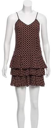 Rebecca Minkoff Floral Mini Dress
