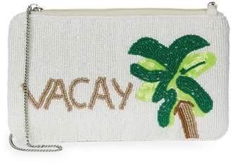 Sam Edelman Women's Vacay Mini Beaded Convertible Clutch