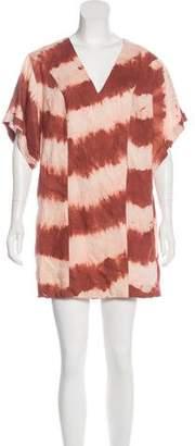 Sass & Bide Tie-Dye Mini Dress