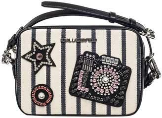 Karl Lagerfeld Klassik Sparkle Crossbody Bag