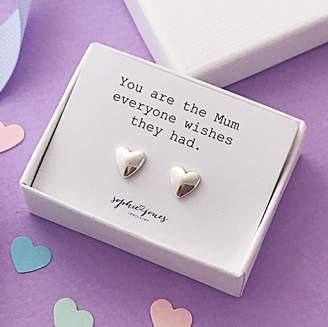 Sophie Jones Jewellery You Are The Mum Earrings