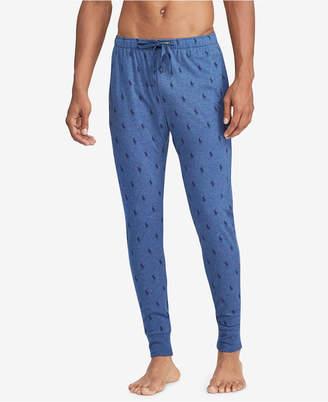 Polo Ralph Lauren Men Pony-Print Cotton Jogger Pants
