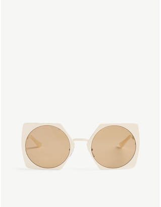 d9cbfee67fe Marni White Women s Sunglasses - ShopStyle