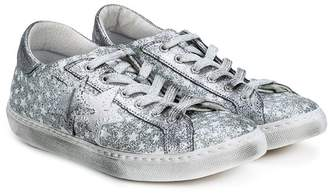 2 Star Kids star patch sneakers