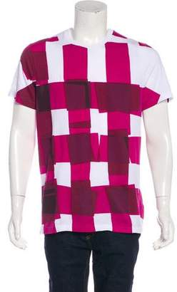 Burberry Woven Graphic T-Shirt