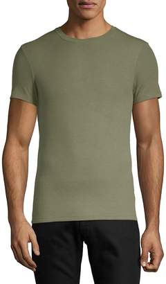 ATM Anthony Thomas Melillo Men's Ribbed Short-Sleeve Tee