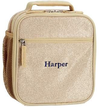 Pottery Barn Kids Mackenzie Gold Glitter Backpacks