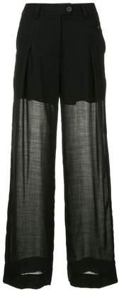 Isabel Benenato wide leg trousers