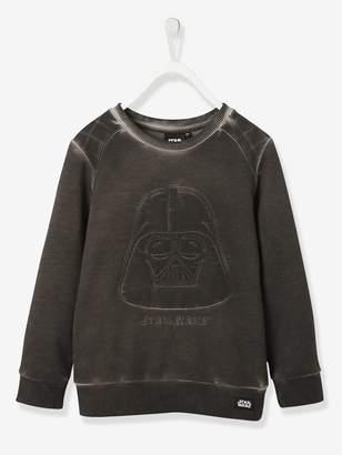 Vertbaudet Boys' Embroidered Darth Vader Sweatshirt, Star Wars Theme