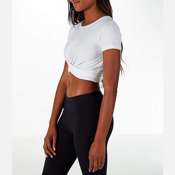 Women's Under Armour Studio Vanish Lux Crop T-Shirt