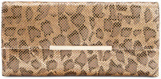 INC International Concepts I.n.c. Hether Leopard Mesh Clutch, Created for Macy's