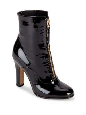 Valentino Zipped Leather Boots