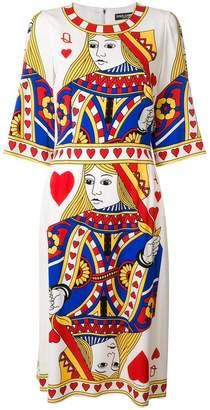 Dolce & Gabbana queen of hearts dress